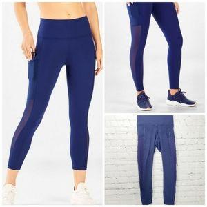 Fabletics mila high waisted pocket capri leggings